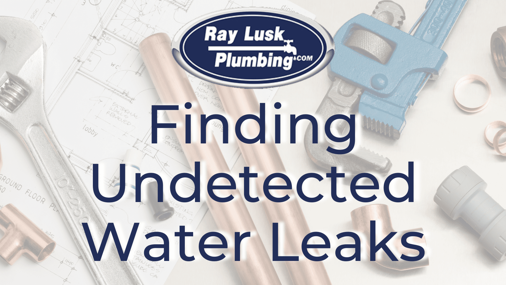 """Image text reads: """"Finding Undetected Water Leaks"""""""