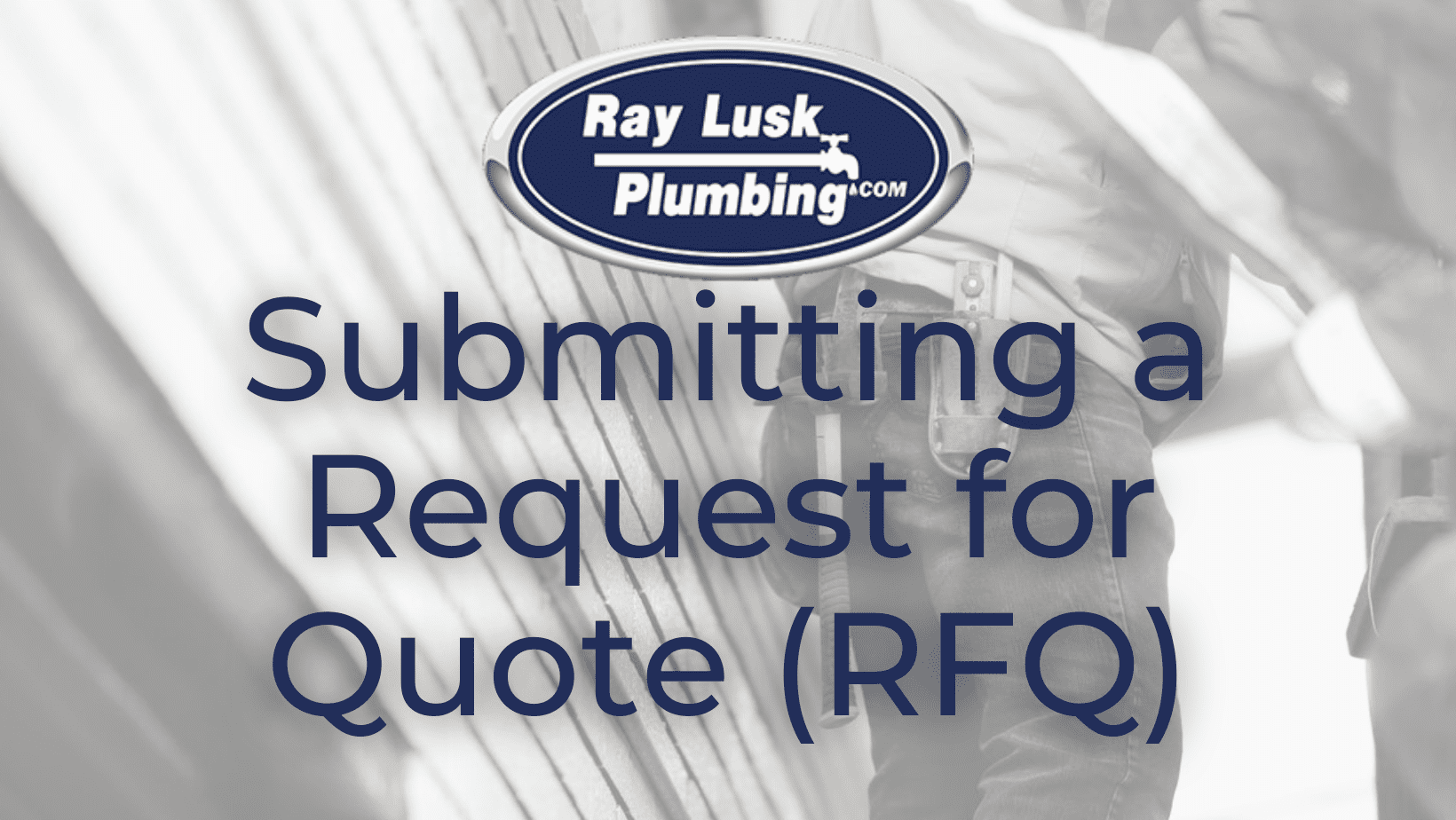 Image text reads: Submitting a Request for Quote RFQ