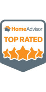 Top Rated Award from Home Advisor dot com
