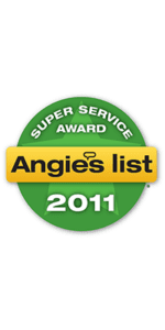 Angie's List Super Service Award for 2011