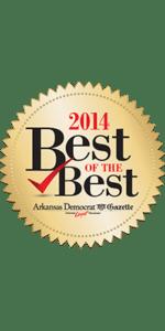 Arkansas Democrat Gazette's Best of the Best award for 2014