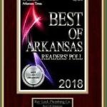 Best of Arkansas (Reader's Poll) Award for 2018