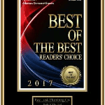 Best of the Best Reader's Choice Award for 2017